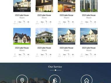 Realtor-4u, RealEstate website.