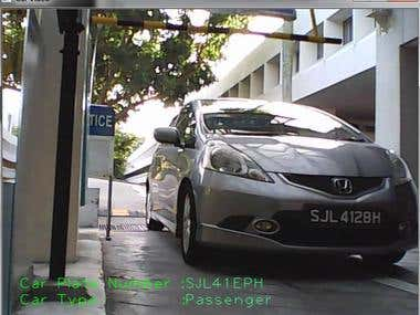 Vehicle Number Plate recognition in openCV