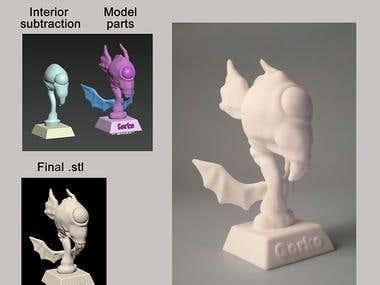 3d Modeling for print