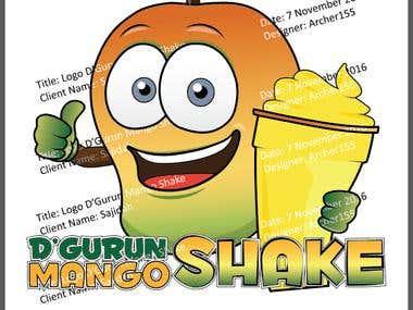 D'Gurun Manggo Shake