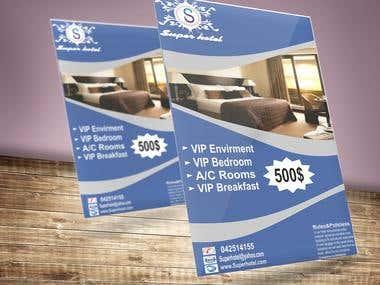 Hotel Flyer or Banner