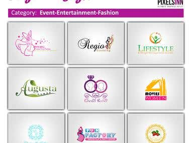 Event-Entertainment-Fashion Logo Designs