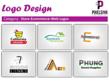 Store-eCommerce-Web Logo Designs