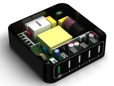 Power Brick Circuit Board