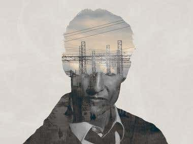 True Detective Double Exposure