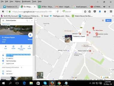 Collect Data from Google Map