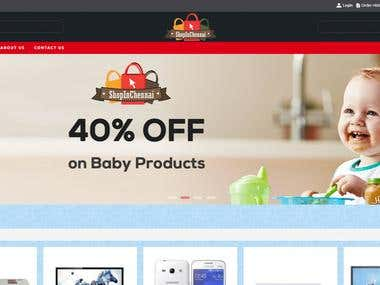 ShopinChennai - Ecommerce Website