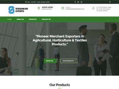 Exports Website