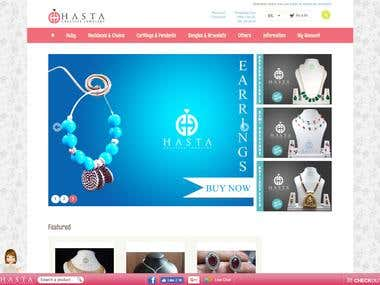 Hasta Creative - Ecommerce Jewelry