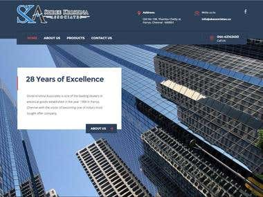 SK Associates Website