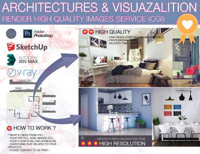 Do 3d Floor Plan Architectural Interior Realistic Render Freelancer