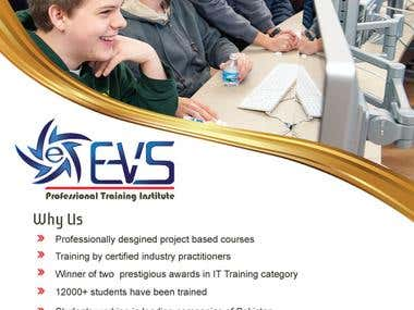 Board design of EVS profesional institute