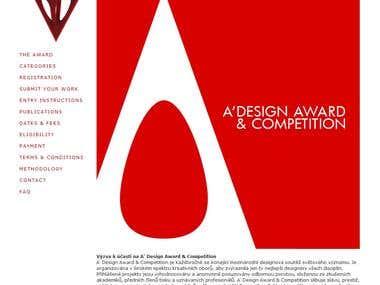 Translation for A' Design Award & Competition