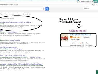 WhiteHat SEO Result