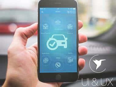 MOSX - Mobil Oto Servis Startup | UI-UX design