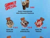 Disfruta menu de helados