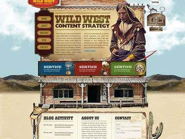 Wild West Content Management System - 2012