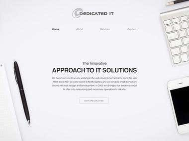 Website Design Web Dev Theme - 2015