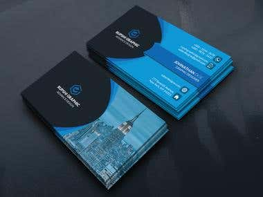 Professionals Business Card