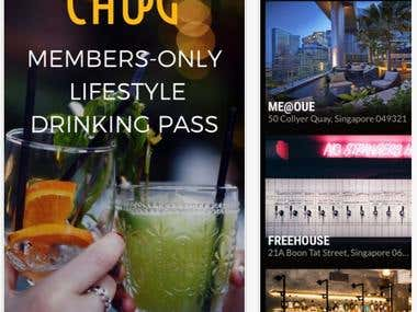 CHUG | Members-only Lifestyle Drinking Pass