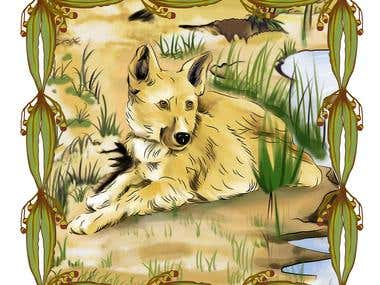 Detailed Animal Illustration.