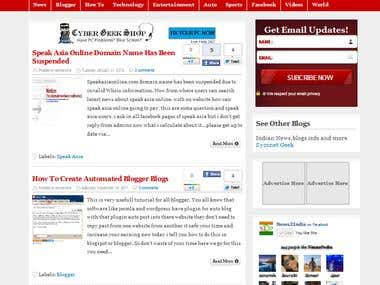 News2india.com bloggger development
