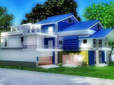 Duplex building