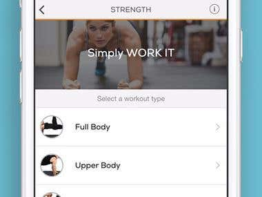 Fitness - Custom Workouts for Exercise & Fitness