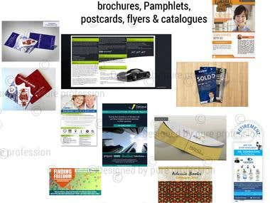 brochure/pamphlets