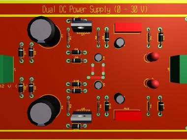 Dual Variable Power Supply (0 - 30 Vdc )