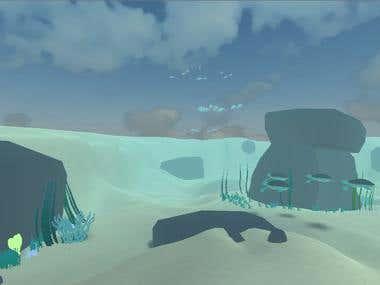 aventura submersa VR