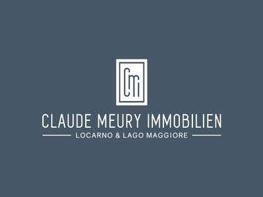 Logo for Claude Meury Immobilien