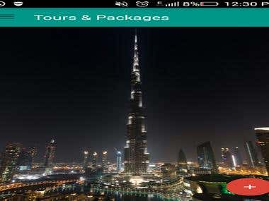 Tours and Travels Android App