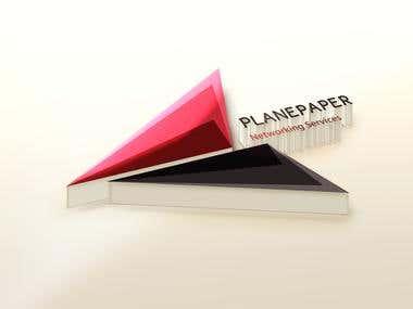 Plane Paper Logo