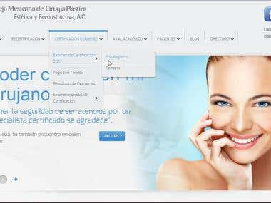 Official Plastic Surgery Board certified Mexico