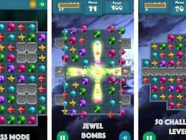 Match-3 puzzle game