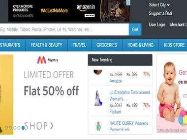 Deals Mela ( Online store platform)