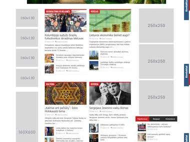 WP news portal