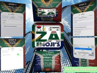 ZA-Emoji Keyboard