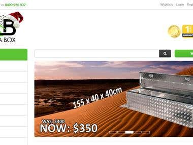 eCommerce site in Neto eCommerce