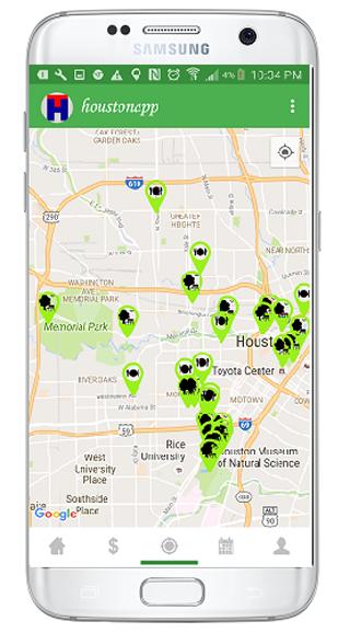HoustonApp aplicacion de ofertas de servicios