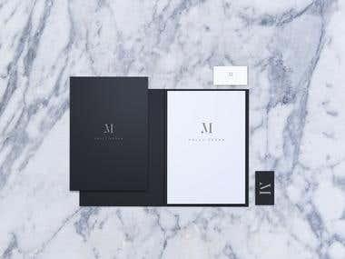 Elegant Corporate Identity Logo Design 2016