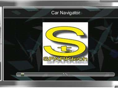 Change of Splash Screen WinCE6 Car Navigation without Source