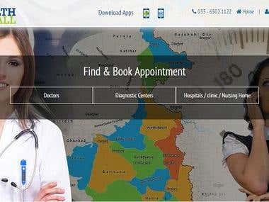 Health Recall ( Online Health portal)