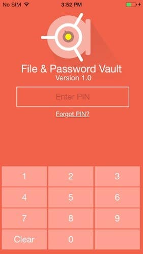 File & Password Vault - iOS and Windows