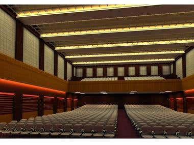 Auditorium at Ranchi