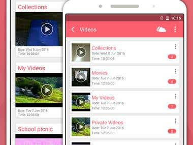 Video Locker - Android