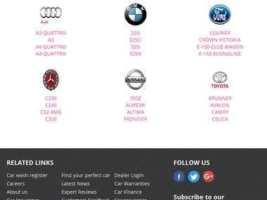 Automobile listing