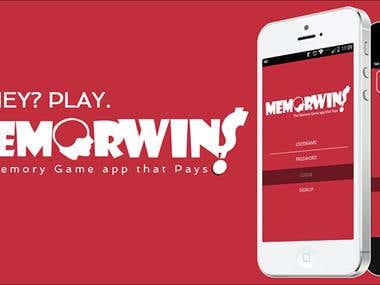 MEMORWIN - Mobile game