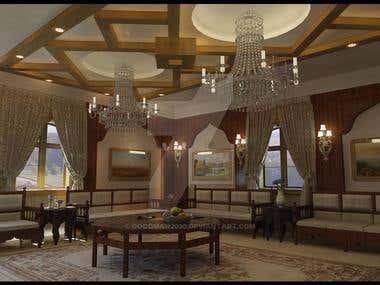 Oriental Sitting Room 1